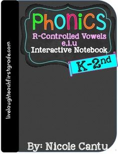 Check out this Phonics Interactive Notebooks, they are awesome. It includes interactive flaps and foldables, assessments, picture/ word cards, and so much more!