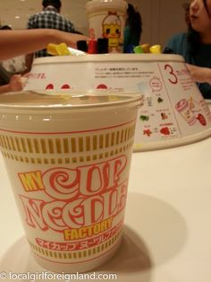 I am a HUGE fan of Nissin noodles. I buy them in cases and occasionally dream about them. Anyways, this trip was more of a 'pilgrimage' to Nissin.  Just a little bit of history he…