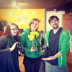 Happy St. Patrick's Day/spring!  Love, your friendly, neighborhood LUNA team.