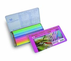 Holbein-Artists-Colored-pencil-12-Color-set-Pastel-Tone-Japan