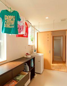 洗濯はこの1ヶ所でOK!「ランドリールーム」