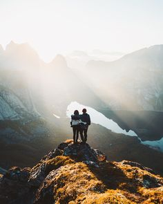 Deep in the bliss. Thankful for the moment. Forward we go. Swipe through the series! Lofoten, Norway, Mount Everest, Bliss, Thankful, Deep, In This Moment, Mountains, Nature