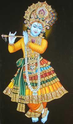 Compre Pintura Senhor Shri Krishana de Paramitaz Kolkata Índia | ID - 126732