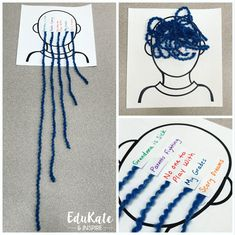 Worry Brain Yarn Activity therapy activities social workers 5 Fun and Easy School Counseling Activities Using String Group Therapy Activities, Anxiety Activities, Counseling Activities, Group Counseling, Health Activities, Social Work Activities, Coping Skills Activities, Art Activities, Physical Activities