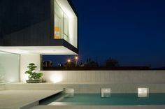 Modern two story.