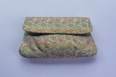 Magid silk tapestry paisley clutch by CallMeMadame on Etsy