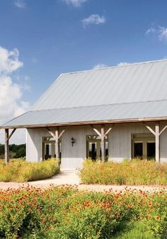 Crawford Retreat, Texas. Color inspiration. And porch posts.