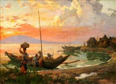 View Manila Bay By Fernando Amorsolo; oil on canvas; Access more artwork lots and estimated & realized auction prices on MutualArt. Filipino House, Filipino Art, Anime Boy Hair, Philippine Art, Art Background, Manila, Garden Projects, Amazing Art, Philippines