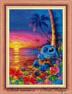 cross stitch pattern cross stitch Stitch vacation  cross