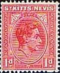 1938 St Kitts - Nevis King George VI SG Fine Mint SG Scott 80 Condition Good LMM Only one post charge applied on multipule purchases Details Buy Stamps, King George, Commonwealth, St Kitts And Nevis, Postage Stamps, British, Mint, Postcards, Islands