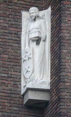 Angel of Breda, Water Tower Speelhuislaan, Breda