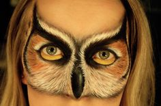 OMG OMG OMG!!!! I have to figure out how she did this!! Simone would LOVE IT! ~~~~~~~~~~~~ Owl https://www.makeupbee.com/look.php?look_id=64963