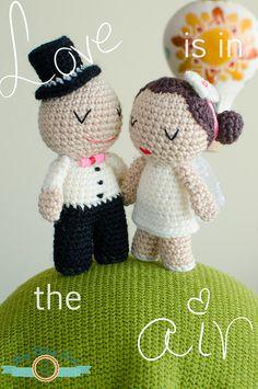 1st of June Weeding Amigurumi  Crochet