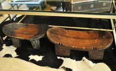 #Accessories #Wood #Stools #African #Design #Interior
