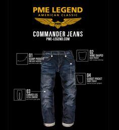 PME Legend Commander Jeans - shop @NummerZestien.eu