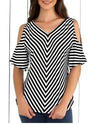 Blouses For Women Cute Blouses, Blouses For Women, Shirt Blouses, Blouse Styles, Blouse Designs, Online Blouse Shopping, Stripped Shirt, Sexy Blouse, Stripes Fashion