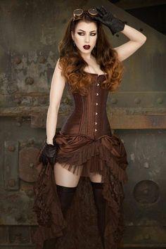 ⚙️ 🔨⛓⚙️ Steampunk DIY Decor and Clothing Projects ⚙️🔨⛓⚙. ⚙️ 🔨⛓⚙️ Steampunk DIY Decor and Clothing Steampunk Couture, Viktorianischer Steampunk, Steampunk Skirt, Steampunk Cosplay, Steampunk Design, Steampunk Clothing, Steampunk Fashion, Gothic Fashion, Victorian Fashion