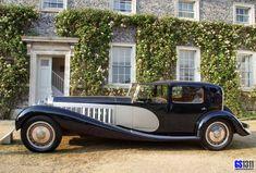1929 Bugatti Type 41 Royale 'Henri Binder CoupйЎ¤e Ville' Bugatti Royale, Ferrari F40, Lamborghini Gallardo, Maserati, French Classic, Classic Cars, Classic Motors, Art Deco, Vintage Cars