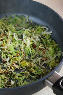 sio-smutki! Monika od kuchni: Karkówka duszona z porem i pietruszką Sprouts, Cabbage, Food And Drink, Dinner, Vegetables, Dining, Cabbages, Vegetable Recipes, Dinners
