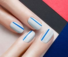 Clean and Cool Nails by JINsoon | Sephora Beauty Board #Sephora #nailart