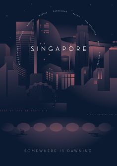 some illustrations Typography Inspiration, Graphic Design Inspiration, City Illustration, Futuristic Design, Cities, Graphic Design Typography, Pictures To Draw, Layout Design, Behance