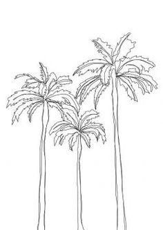 New Palm Tree Drawing Wallpaper 33 Ideas Tree Drawing Wallpaper, Tree Line Drawing, Palm Tree Drawing, Leaf Drawing, Drawing Drawing, Drawing Tips, Palm Tree Outline, Palm Tree Art, Palm Tree Leaves