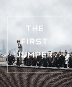 Tobias what r u doing standing at the top u should be on the bottom to help Tris up don't screw up the movie please!
