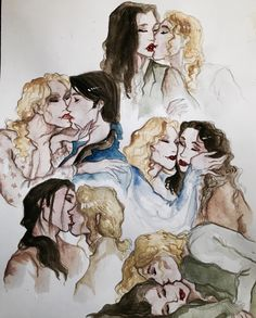 """icestorming: """"Get to know me: I love drawing kisses. """""""
