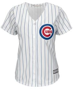e8d7fdbcb3f Majestic Women s Anthony Rizzo Chicago Cubs Replica Jersey - White XL Chicago  Cubs Shirts
