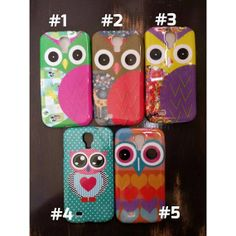 awesome phone covers! Get yours on  Etsy at https://www.etsy.com/listing/173907588/cute-owl-samsung-galaxy-s4-case-galaxy