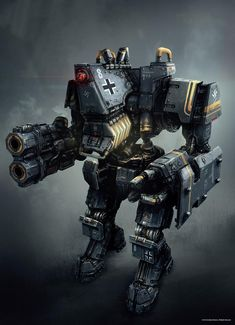 Heavy Robots (German: Schwerer Roboter) are large mechs used by the Nazis in the 1960's. These...