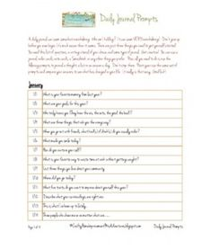 Daily Journal Prompts Daily Journal Prompts, Journal Topics, Journal Ideas, Types Of Journals, Therapy Worksheets, Grammar And Punctuation, Tell My Story, Counseling Psychology, Remember Who You Are