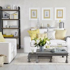 gray and yellow living room ideas. 69 Fabulous Gray Living Room Designs To Inspire You  room curtains Grey living rooms and