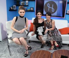 Actresses Joey King, Shiri Appleby and Constance Zimmer visit Hollywood Today Live at W Hollywood on June 24, 2016 in Hollywood, California.