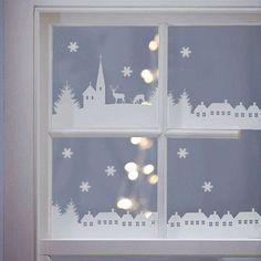 Decorazioni natalizie con gli stencil - Magia di Natale