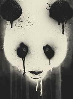 Panda Stare by Dzeri29 join us http://pinterest.com/koztar/