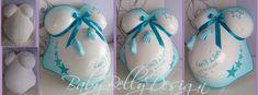 Pregnant Belly Cast, Belly Casting, Body Cast, It Cast, Ornament, Pregnancy, Art, Pink, Sculpture