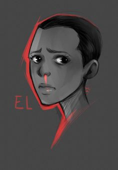 """I regret having misjudged this series"" - Eleven sketch (Stranger Things)"