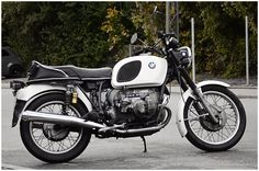 bmw-beautiful bikes. One day I'd like to get the husband one. :)