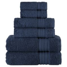 Give your linen closet a much-needed refresh with the incredibly plush Spa Collection Bath Towel Set from Laural Home. Crafted from Turkish cotton, these towels are ultra absorbent and softer with each wash. Turkish Cotton Towels, Luxury Towels, Spa, Linen Store, Bath Towel Sets, Bath Linens, Washing Clothes, Liz Claiborne, Hand Towels