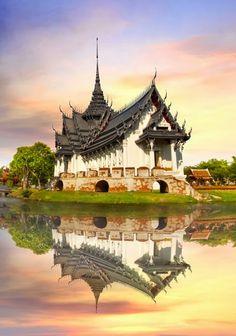 Sanphet Prasat Palace, Ancient City, Bangkok.
