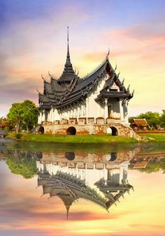 Sanphet Prasat Palace, Ancient City, Bangkok.