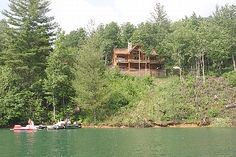 This is where we vacationed June 2014. Topton, NC on Lake Nantahala. My best vacation ever. I will always cherish the memories. One day, this is the area where I plan to live.