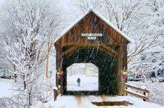 Howe Covered Bridge - Tunbridge, Vermont