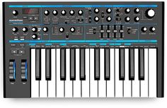Novation Bass Station II Analog Synthesizer - Black for sale online Techno, Circuit Components, Analog Synth, Rhythmic Pattern, Drum Machine, Sound Design, Electronic Music, Music Stuff, Musical Instruments