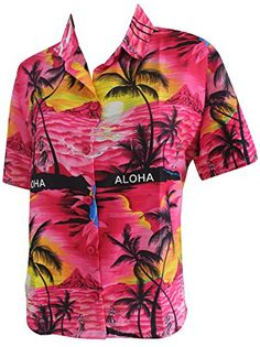 Hawaiian Beachwear Shirt Dress Short Sleeves Blouse Button Down 1896 Pink L. Do YOU want blouse in other colors Like Red | Pink | Orange | Violet | Purple | Yellow | Green | Turquoise | Blue | Teal | Black | Grey | White | Maroon | Brown | Mustard | Navy ,Please click on BRAND NAME LA LEELA above TITLE OR Search for LA LEELA in Search Bar of Amazon To get COMFORTABLE FIT and Right SIZE FOR YOU, request you to view SIZE CHART See LA LEELA's SIZE IMAGE in Product Image on the left. SAVE MONEY…