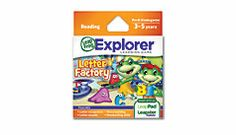 Explorer™ Game Cartridge: Letter Factory #leapfrogwishlist