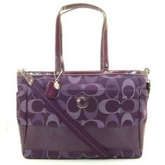 Coach Signature Multi Function Tote Baby Diaper « Clothing Impulse