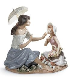 LLADRO - AS PRETTY AS A FLOWER