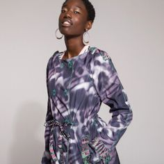 Now on eboutic. Green Spring Dresses, Red Indian, Indian Patterns, Pink Flowers, Cover Up, Purple, Shirts, Color, Clothes